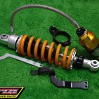 Monoshock Moto1 Ninja150r tabung pisah