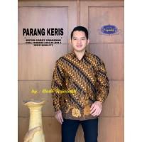 Kemeja Batik Pria Dewasa PARANG KERIS Lengan Panjang By RAJA SAKTI
