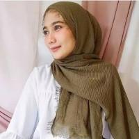 Jilbab Pashmina Crinckle Ombre