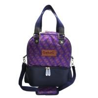 Gabag Cooler Bag DIAMOND Double Sling (Free 2 Ice Gel) - Tas Asi