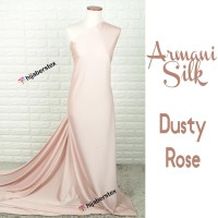 HijabersTex 1/2 Meter Kain ARMANI SILK Dusty Rose