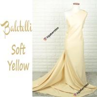 HijabersTex 1/2 Meter Kain BALOTELLI Soft Yellow