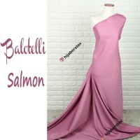 HijabersTex 1/2 Meter Kain BALOTELLI Salmon