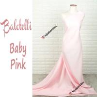 HijabersTex 1/2 Meter Kain BALOTELLI Baby Pink