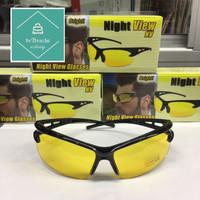 Kacamata Sport Night View Sport Kacamata Malam Terang Kuning Terang