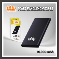 FUF POWER BANK QUICK CHARGE 3.0 (10.000 mAh) FB-01