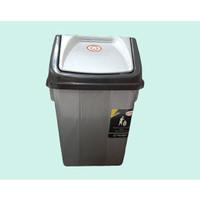 Tempat Sampah Mini/Tempat Sampah Murah Abu Plastik 5 liter
