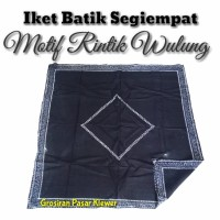 Iket Kepala Batik / Iket kepala Jawa / Iket Segiempat Motif Wulung