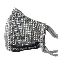 Bling Me Facemask with Square Trims
