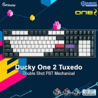 Ducky One 2 Tuxedo Double Shot PBT Mechanical Keyboard