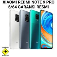 Xiaomi Redmi Note 9 Pro 6/64 Ram 6 Rom 64 Garansi Resmi