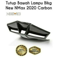 ducktail cover bawah lampu all new nmax 2020 carbon nemo best quality