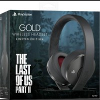 PS4 Wireless Headset The Last of Us Part 2 Limited Edition