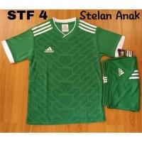 Setelan baju kaos anak SD olahraga futsal sepakbola KODE BARANG STF
