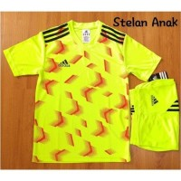 Jersey Setelan baju kaos anak SD olahraga futsal sepakbola APB 6