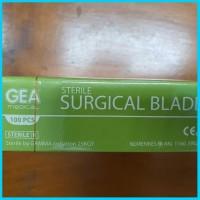 Pisau Bedah Surgical Blade Gea Medical Alat Kesehatan Perlengkapan Med