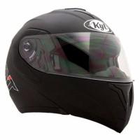 STOK TERAKHIR Helm KYT RRX Modular Full Face White Fullface Doubl