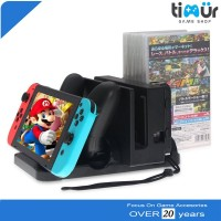 Multifunctional Nintendo Switch Charging Stand Dock Game Card Sto