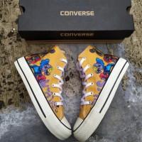 Converse Premium Karakter ELMO High Boot Sepatu Pria Wanita