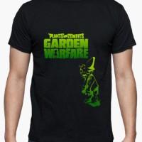 Kaos Zombies--Plants Vs Black Guy T-Shirt