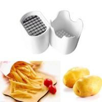 Potato Chips Cutting Box Press Cutter Cup Chopper French Fries