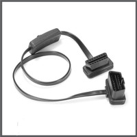 PS Ori OBD2 16 Pin Male to Female with Switch Cord Extension Cable
