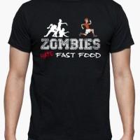 Kaos Zombies Run T-Shirt