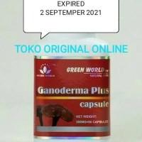 Ganoderma Plus Capsule Green World/Obat Kanker/Obat Tumor Original