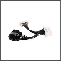 PS Ori Foxwell OBD2 DIY Cable 16Pin Male Port to Dual Female Car