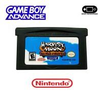 Kaset GBA Gameboy Advance SP Micro Harvest Moon Save Load Oke