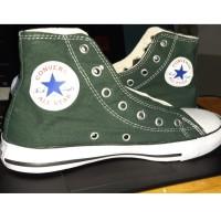 Converse Green Army High Bot Hijau Army Sepatu Pria Wanita