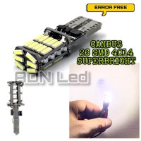 LAMPU LED T10 CANBUS 26 SMD 4014 ERROR FREE SUPERBRIGHT PCS Limited