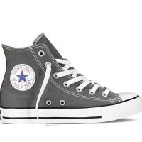 Converse Grey High Boot Abu Sepatu Pria Wanita