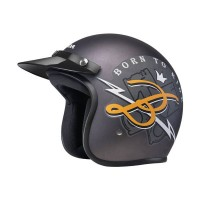 Honda Btr Grey Helmet SIZE M 87100HFBTRGRM