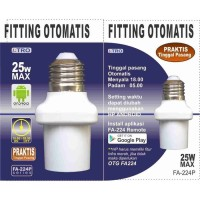 Fitting Lampu dengan Timer Otomatis