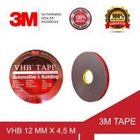 3M VHB Double Tape Automotive 4900 size 12mm x 4,5m -Double Tape Mobil