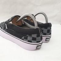 Sepatu Vans Slip On Checker Board Grey Premium Quality