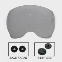 Paket Visor YR + Gear Visor + Sidelock YR