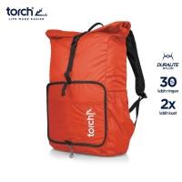 TORCH TAS RANSEL FOLDABLE BAG BACKPACK KUMANO 19+2L ORANGE