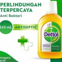 DETTOL ANTISEPTIC 245ML CAIR