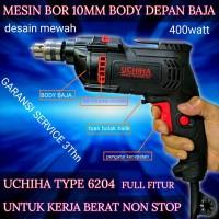 promo Bor tangan bor listrik 10mm mesin bor variable speed putar 2arah