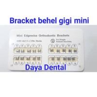 Dental bracket amplop mim mini edgewise 022 NH/bracket behel gigi mini