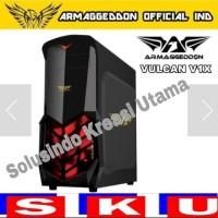 Casing Gaming Armaggeddon Vulcan V1 x Black