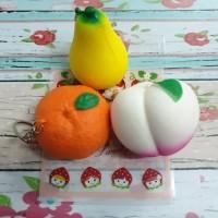 Squishy murah seri buah buahan lucu / fruit series