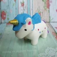 Squishy Murah Cute Unicorn Purple Galaxy / Kuda poni