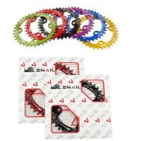 Chainring wide narrow Snail Merah BCD 104 single speed nn store sepeda