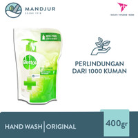 Dettol Handwash Original - 400 Gram Refill Pack