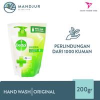 Dettol Handwash Original - 200 Gram Refill Pack