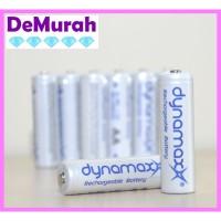 0418 Baterai Cas Dynamax 1000mAh Size AA Rechargeable