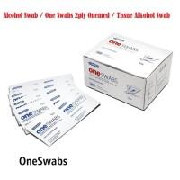 Dijual Alcohol Swab / One Swabs 2ply Onemed / Tissue Alkohol Swab